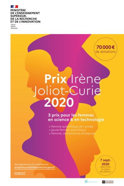 prix irène joliot-curie 2020